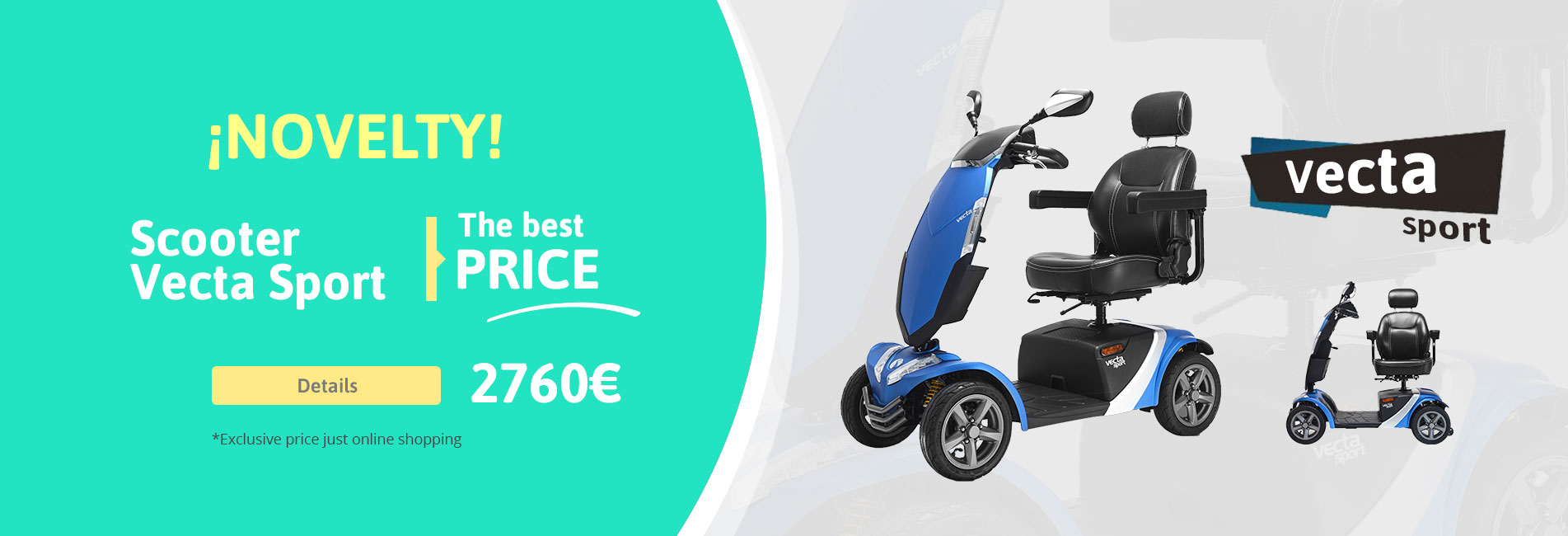Shop Scooter Vecta Sport